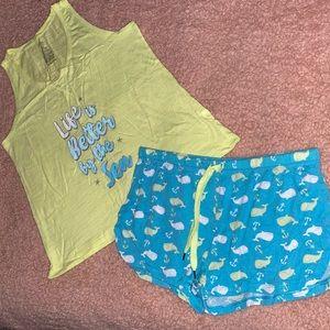 EUC Women's Tank Top & Sleep Shorts